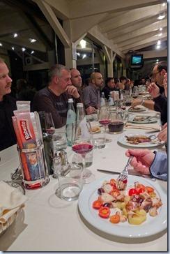 večerja za predavatelje
