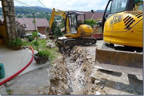 kanal za kanalizacijo