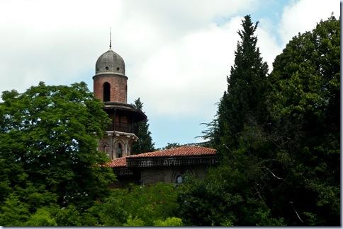 54 stolp v botaničnem vrtu