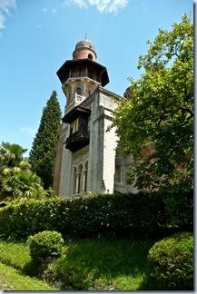 60 stolp v botaničnem vrtu