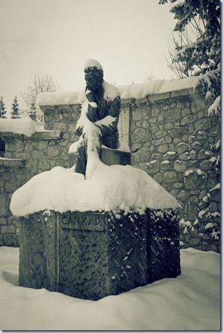 Ivan Cankar statue