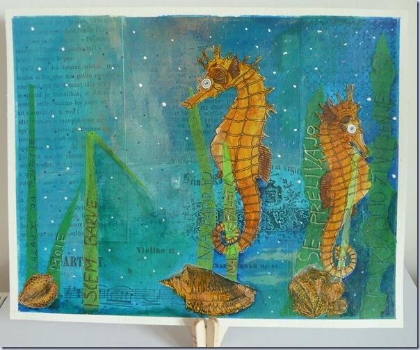 kolaž morski konjički