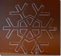 10 snežinka - pleksi