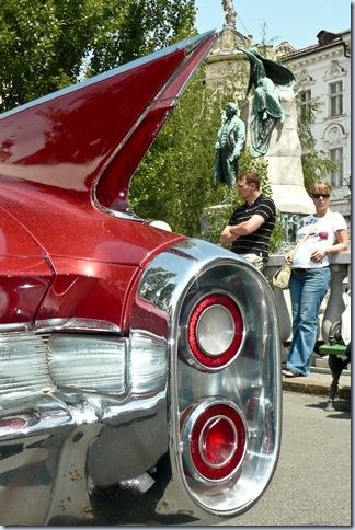 oldtimerji - Chevrolet - tailfin