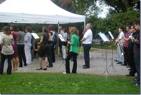 orkester v Bistri