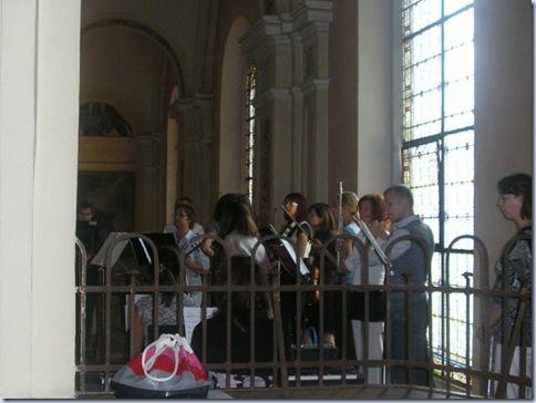 orkester v vrhniski cerkvi