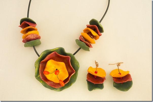 ogrlica in uhana