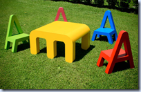 Letters furniture