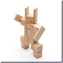 Magnetic Wooden Building Blocks