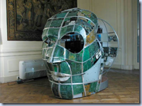 Giant Circuit Board Heads