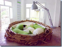 Bird Nest Bed