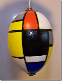 Mondrian easter egg