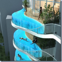 Balcony Swimming Pool