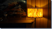 turned lamp shade
