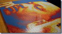 Rubik's Cube Portrait