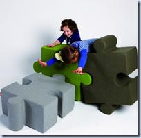 Puzzle Pouf