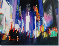 Blurry Oil Paintings