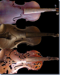 Steampunk Violin