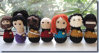 Crocheted Start Trek: TNG