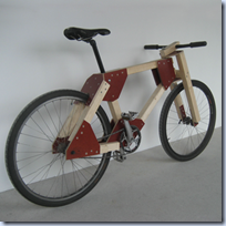 DIY Wooden Bicycle