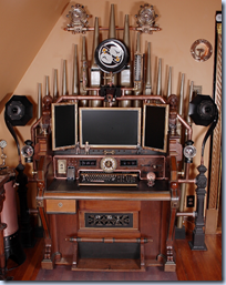 Victorian Organ Command Desk