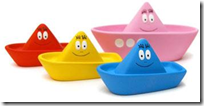 Barbapapa Bath Set