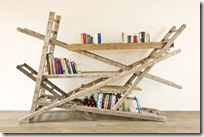 Ladder bookshelf