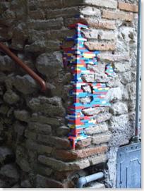 Lego zid