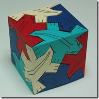 Cube of lizard