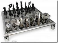 auto part chess set