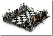 Lego Castle Giant Chess Set