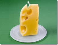 cheese candle
