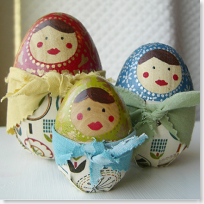 Egg Matryoshka Dolls