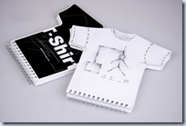 T-shirt Sketchbook