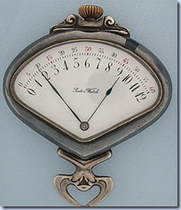 RetroGrade Pocket-watch