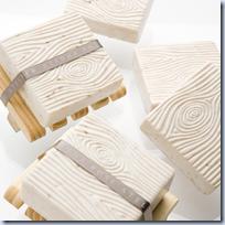 Faux-bois soaps