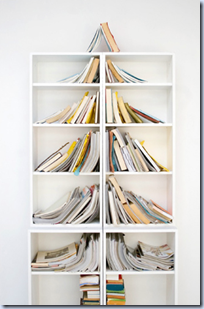 book shelf christmas tree