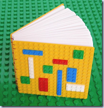 Coptic Bound LEGO Book